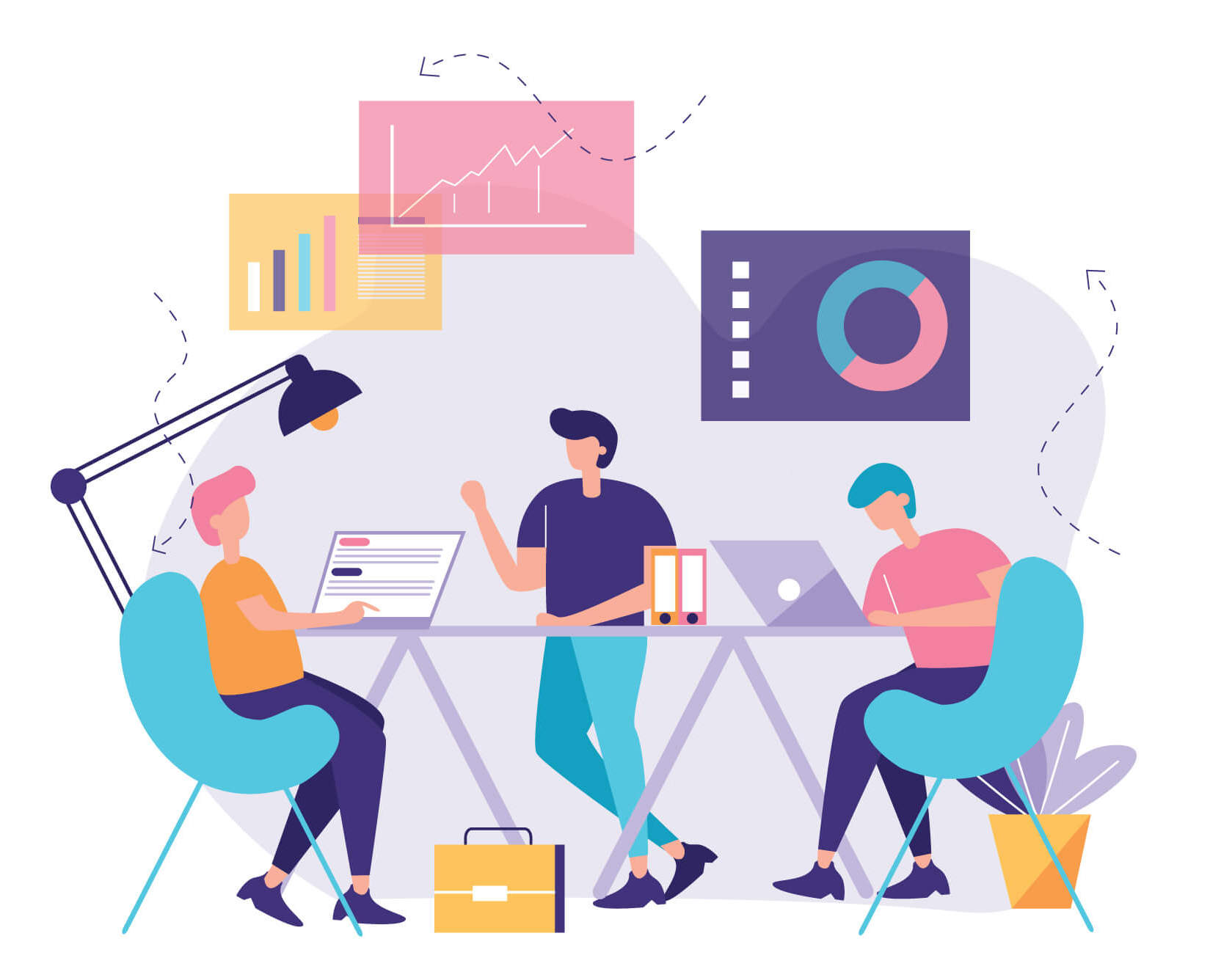 Marketingeksperter taler statistik og digital B2B marketing